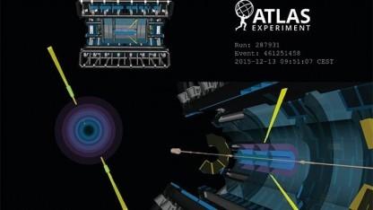 Ultra-periphere Kollision im Experiment Atlas: statistische Sicherheit von 4,4