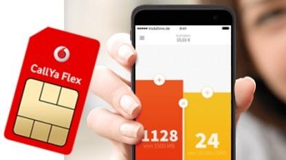 Callya Flex ist der neue Prepaid-Tarif von Vodafone.