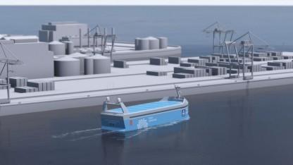 Autonomer, elektrisch angetriebener Frachter Yara Birkeland: Energie aus erneuerbaren Quellen ist günstiger als fossile Brennstoffe.