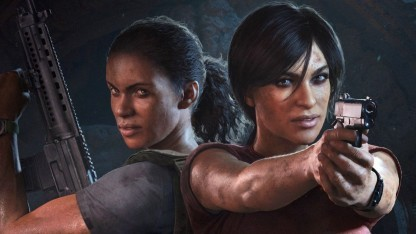 Artwork von Uncharted - The Lost Legacy.