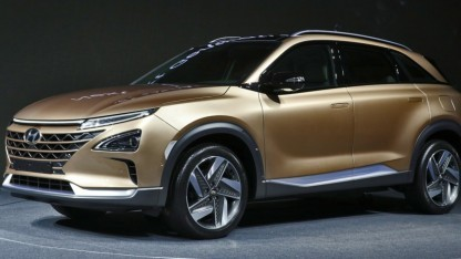 Hyundai-SUV mit Brennstoffzelle