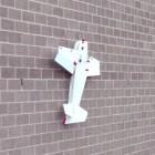 Biomimetik: Drohne landet kontrolliert an senkrechter Wand