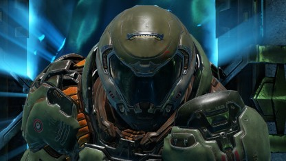 Einer der spielbaren Charaktere in Quake Chamions