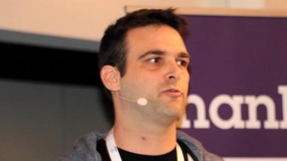 Tomer Barkan von Suncrash auf der Devcom 2017 in Köln