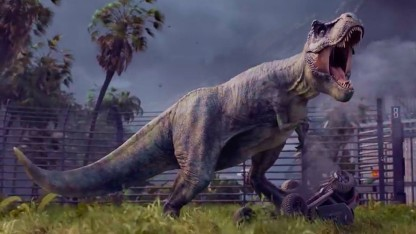 Da hat jemand Hunger in Jurassic World Evolution.