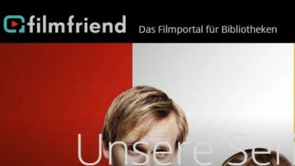 Filmfriend bietet Videostreaming für Bibliothekskunden.