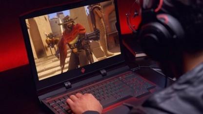 Der HP Omen X ist ein Laptop speziell für E-Sportler.