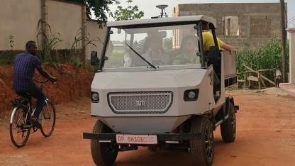 aCar in Ghana