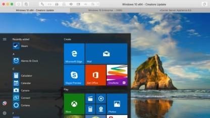 Fusion 10 soll Windows 10 besser emulieren können.