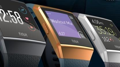 Die Fitbit Ionic erscheint in mehreren Farbversionen.