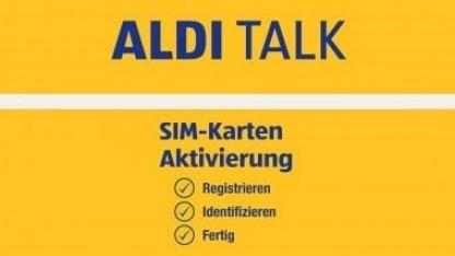 Werbebild von Aldi Talk: Hier stimmt alles.