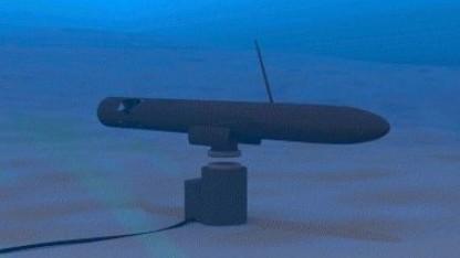 Drahtloses Laden eines AUV: monate- und jahrelange Missionen