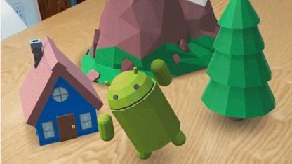 ARCore von Google erschafft Augmented Reality auf dem Küchentisch.