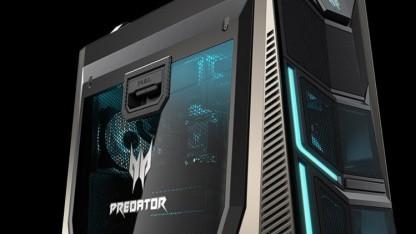 Für einen Predator-PC ist der Orion 9000 relativ schlicht gehalten.