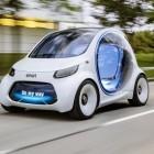 Vision EQ Fortwo: Smart als Taxi ohne Lenkrad und Fahrer
