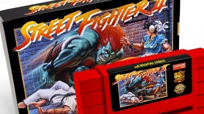 Die Legacy Cartridge Collection von Street Fighter 2.