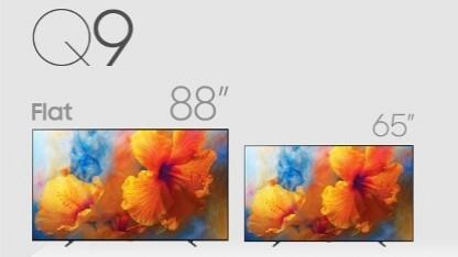 Die Q9-Serie gibt es jetzt mit 88 Zoll.
