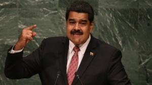 Nicolas Maduro bei einer Rede vor den Vereinten Nationen.