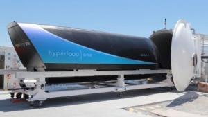 Kapsel XP-1 von Hyperloop One: Alle Komponenten des Systems wurden getestet.