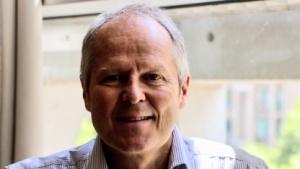 Ubisoft-Chef Yves Guillemot bei einem Interview mit Golem.de im Sommer 2017