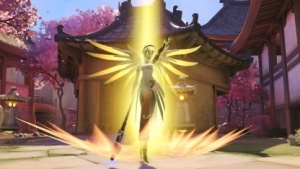 Overwatch mit Heldin Mercy läuft weiter hervorragend für Blizzard.