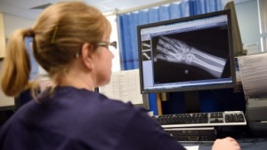 Datenverarbeitung in Krankenhaus