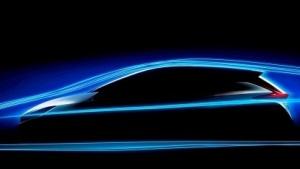 Das erste offizielle Bild des Nissan Leaf 2018