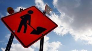 Baustellenschild in Florida (Symbolbild): GPS-Koordinaten oder Zusatzinformationen zur Straße