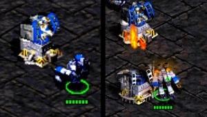 Links das alte, rechts das neue Starcraft