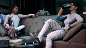 Eine Szene aus der Kampagne von Mass Effect Andromeda