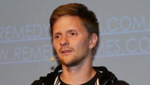 Senior Gameplay Animator Illkka Kuusela auf der Devcom 2017 in Köln