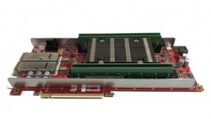 Eines der FPGA-Boards von Microsofts Project Brainwave