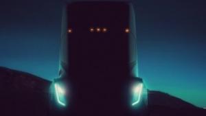 Teslas elektrisch fahrender Lkw