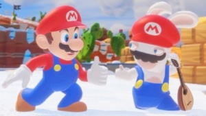 Mario in Mario + Rabbids
