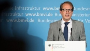 Bundesminister Alexander Dobrindt (CSU)