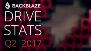Backblaze hat die Laufwerkstatistiken für das zweite Quartal 2017 herausgegeben.