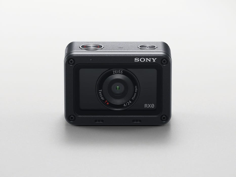Sony: Actionkamera RX0 mit unkomprimiertem 4K-Video