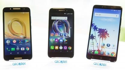 Das A7, Idol 5 und A7 XL von Alcatel