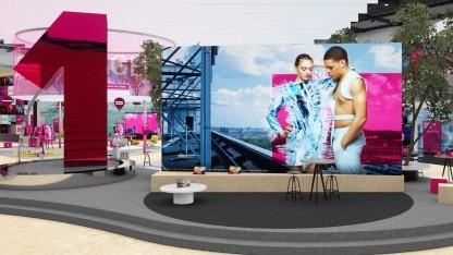 Bühne der Telekom auf der Ifa