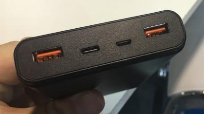 BNY zeigt einen PD-Akku, der 60 Watt bieten kann.