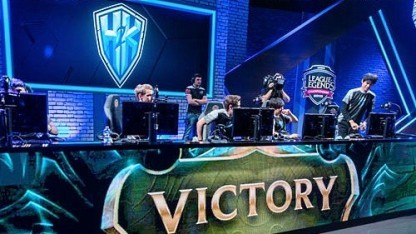 H2K bei einem League-of-Legends-Turnier
