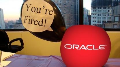 Oracle entlässt weitere Mitarbeiter.