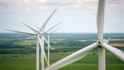Viele Windräder könnten ein IT-Security-Update vertragen.