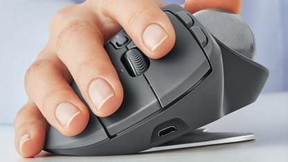 Die Maus ist rund: MX Ergo - Logitech bringt die Trackball-Maus zurück