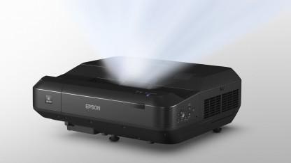 Der EH-LS100 soll mit herkömmlichen Fernsehern konkurrieren.