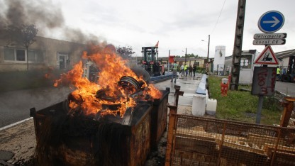 Ein Dumpster Fire