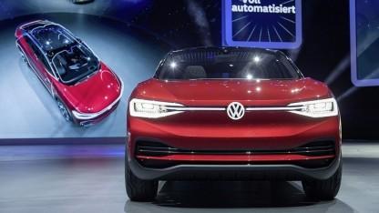 VW ID Crozz: Die ID-Familie kommt ab 2020 auf den Markt.