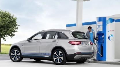 Mercedes GLC F-Cell: kleinere und leistungsfähigere Brennstoffzelle