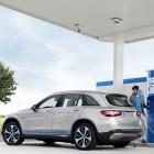 GLC F-Cell: Mercedes stellt SUV mit Brennstoffzelle und Akku vor