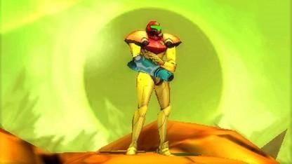 Samus Aran in Samus Returns für das 3DS